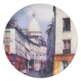 Paris Street Party Plate