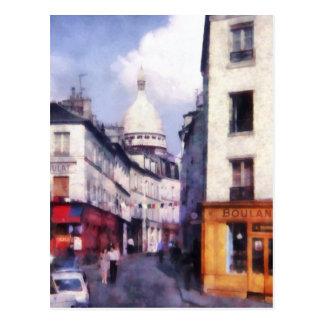 Paris Street Postcard