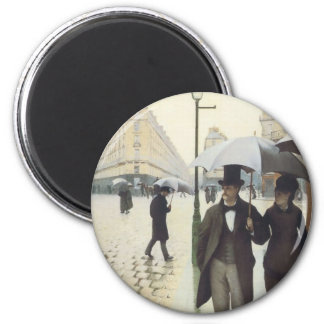 Paris Street, Rainy Day by Caillebotte Magnets
