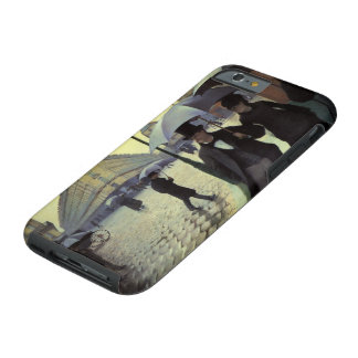 Paris Street Rainy Day by Gustave Caillebotte iPhone 6 Case