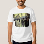Paris Street Rainy Day by Gustave Caillebotte T-Shirt