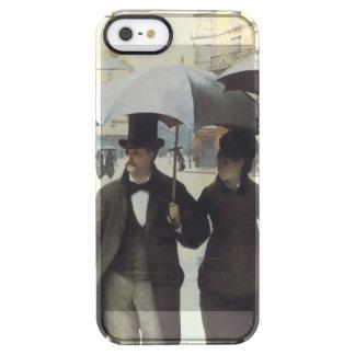Paris Street, Rainy Day Clear iPhone SE/5/5s Case