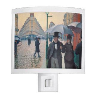 Paris Street Rainy Day | Gustave Caillebotte Nite Lites