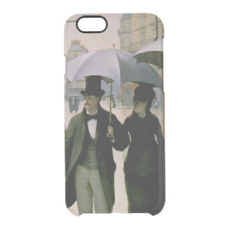 Paris Street, Rainy Day iPhone 6/6S Clear Case