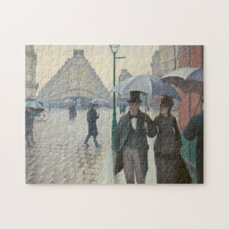 Paris Street Rainy Day Jigsaw Puzzle
