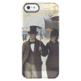 Paris Street, Rainy Day Permafrost iPhone SE/5/5s Case