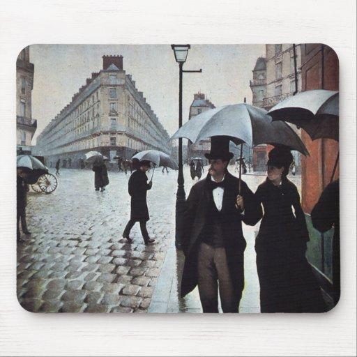 Paris Street- Rainy Weather Mouse Pad