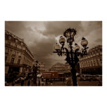 Paris Street Scene (I) Print