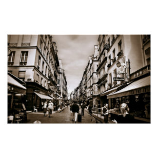 Paris Street Scene (III) Poster