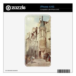 Paris Street scene iPhone 4S Decals