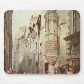 Paris Street scene Mouse Pad