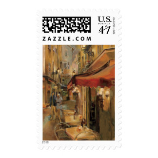 Paris Street Scene Stamp