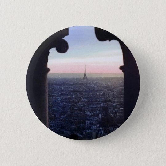 Paris Sunset Button