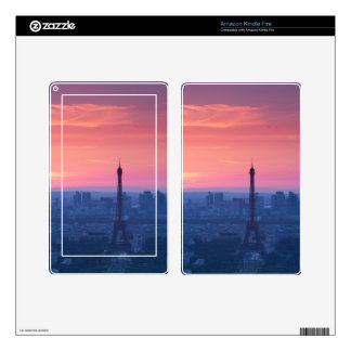 Paris sunset skin for kindle fire