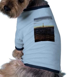 Paris T-shirts Pour Animaux Domestiques