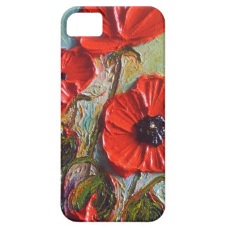Paris' Tall Red Poppies iPhone 5 Case