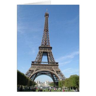 París - tarjeta