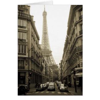 París Tarjeta De Felicitación
