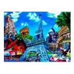 París tarjeta postal