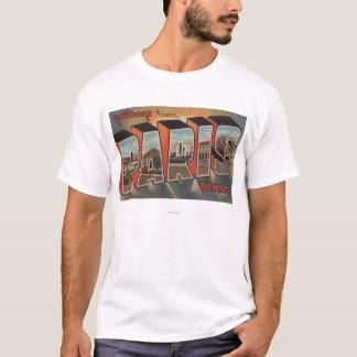 Paris, TexasLarge Letter ScenesParis, TX T-Shirt