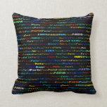 Paris Text Design I Throw Pillow