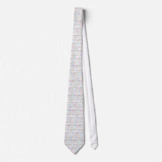 Paris Text Design II Tie