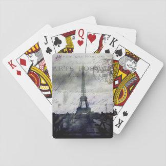 París texturizada baraja de póquer