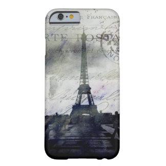 París texturizada en caso de la identificación del funda de iPhone 6 barely there