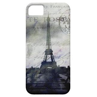 París texturizada en caso de la identificación del iPhone 5 fundas