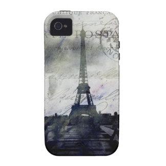 París texturizada en caso duro del iPhone 4 de la iPhone 4 Carcasas