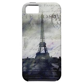 París texturizada en caso duro del iPhone 5 de la  iPhone 5 Carcasa