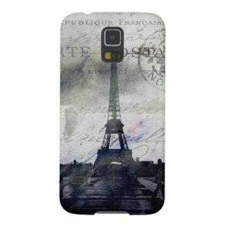 París texturizada en lavanda fundas de galaxy s5