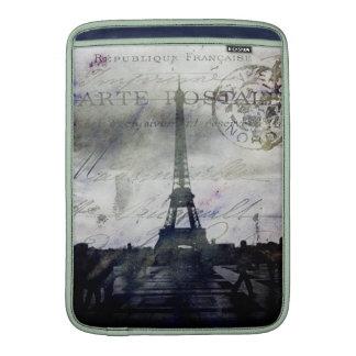 París texturizada en lavanda funda  MacBook
