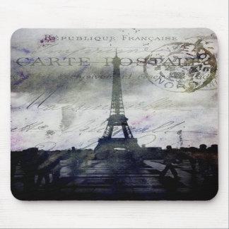 París texturizada en lavanda alfombrillas de ratones