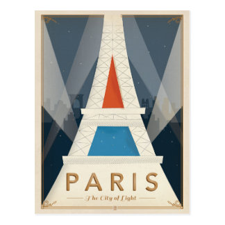 Paris - The City of Light Postcard