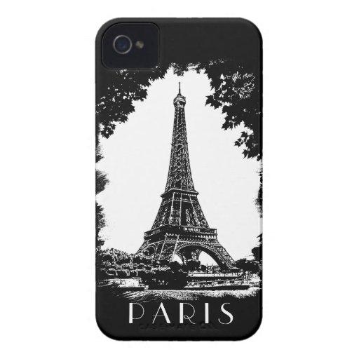 Paris, the Eiffel Tower - iPhone4 Case-Mate case iPhone 4 Cases