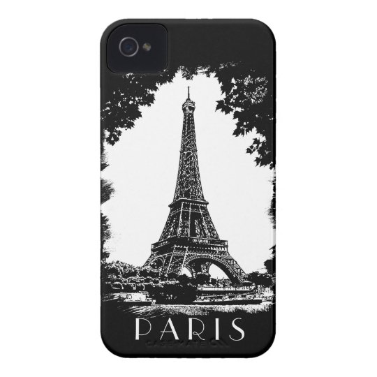 Paris, the Eiffel Tower - iPhone4 Case-Mate case