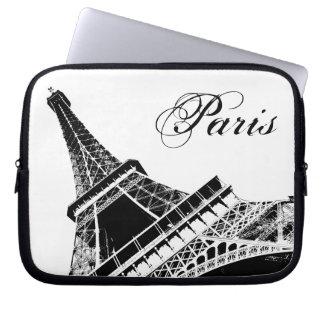 Paris, The Eiffel Tower Laptop Sleeves
