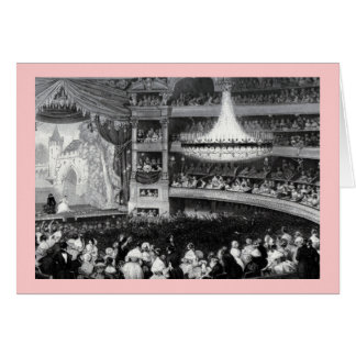 Paris Theater and Stage Card