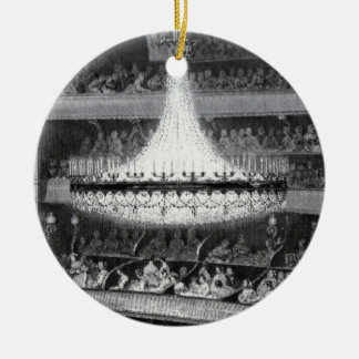 Paris Theater and Stage Ceramic Ornament