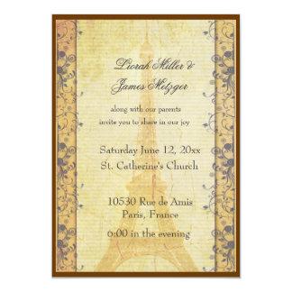 Paris Themed Wedding Invitations Announcements Zazzle