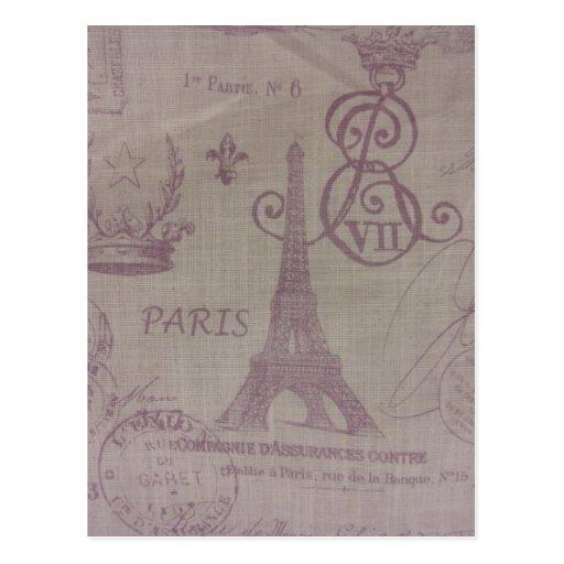 París -- Torre de Eiffle Postal
