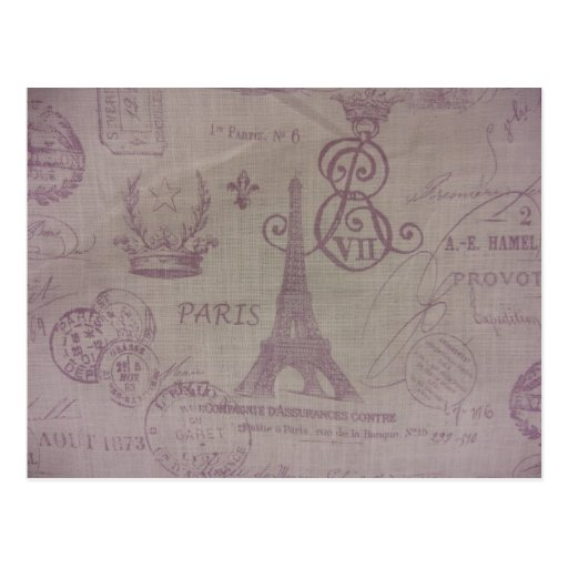 París -- Torre de Eiffle Tarjetas Postales