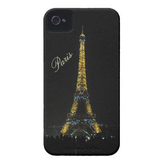 París, torre Eiffel en el caso de la noche Case-Mate iPhone 4 Coberturas