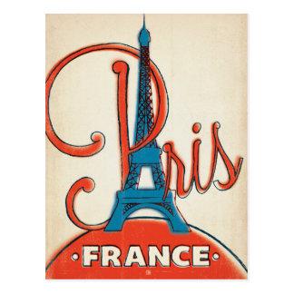 París - torre Eiffel Tarjetas Postales