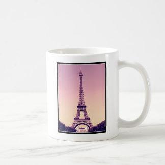 París - torre Eiffel Taza Básica Blanca