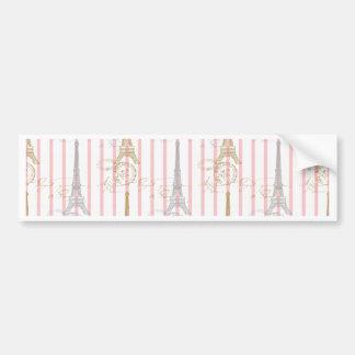 Paris Toujours Bumper Sticker