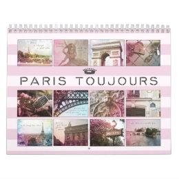 Paris Toujours Photography Calendar