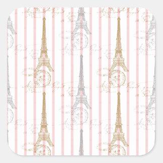 Paris Toujours Square Sticker