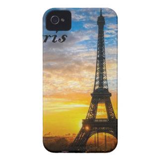 Paris Tour Eiffel in Sunset (St.K) iPhone 4 Case-Mate Case